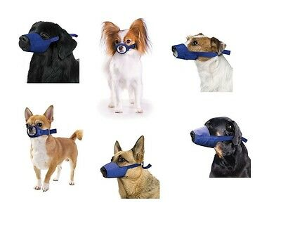 Quick Muzzle for Dogs - XXS to XXXL - Safety - Adjustable straps - quick release