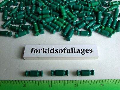"""100 KNEX GREEN RODS 3/4"""" Bulk Standard Replacement Parts Lot Small/Short Pieces"""