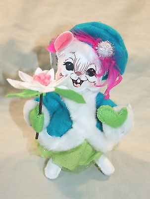 "Annalee Dolls Christmas 6"" Winter Whimsy Mouse Open Smile NWT"