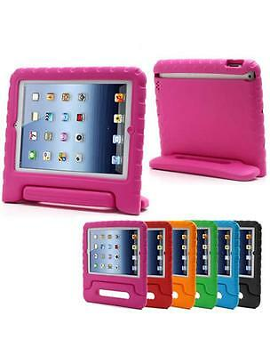 Pink Kids Shockproof Foam  Case for iPad 2,3,4 Childrens Handle Stand Cover