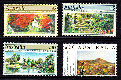 AUSTRALIA #1132-5 MINT NEVER HINGED 1989-90 SET of 4, CV$74.00 -- FD7