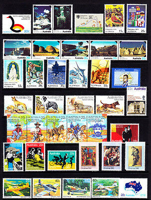 Australia #700//771 Mint Never Hinged 1979-80 Set, 39 Different, Cv$22.90 -- Fd8