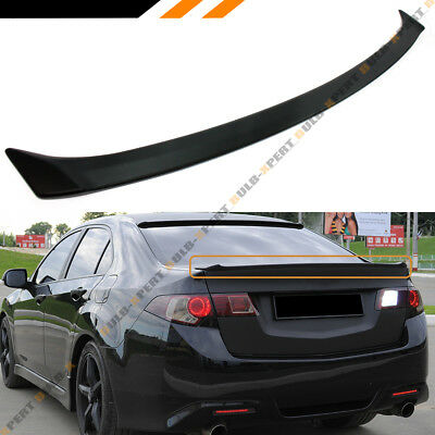 09-2014 Acura Tsx Abs Primered Cu1 Cu2 Accord Rear Trunk Deck Lid Spoiler Jdm
