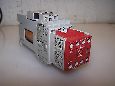 Allen Bradley 30 Amp 15 Hp Safety Contactor 100C23Z*400 100S-F Coil 24 Vdc