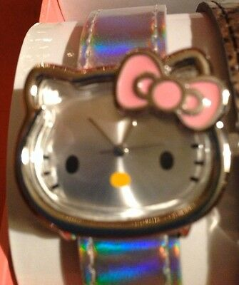 Brand New Ladies Sanrio Hello Kitty Watch with 4 Bands