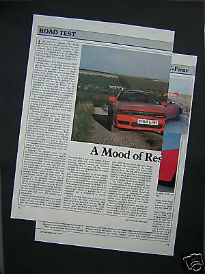 Toyota Celica GT-Four Road Test from 1989 - GT4