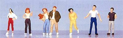 """Kato 24-211 Model People """"Young People"""" (N scale)"""