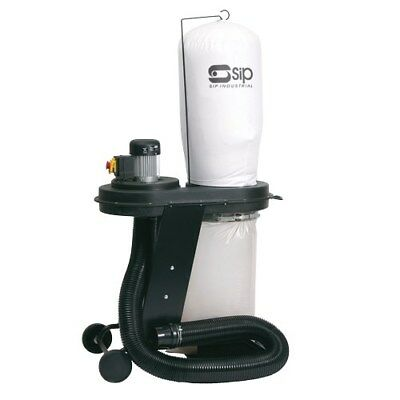 SIP 01932 Heavy Duty Industrial Workshop 1hp Dust Collector Dust Extractor 240v