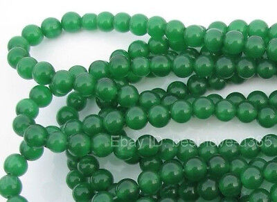 Wholesale GREEN JADE Round Loose Spacer BEADS - Choose 4MM, 6MM & 8MM 10MM 12MM