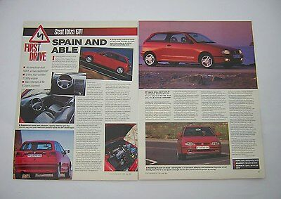 SEAT Ibiza GTi - First Drive Road Test from 1993