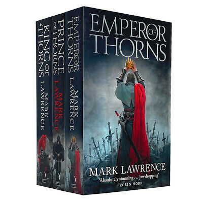 The Broken Empire Series Collection Mark Lawrence 3 Books Set Prince of Thorns