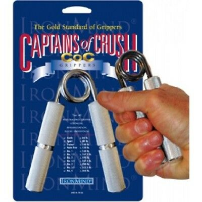 Ironmind Captains of Crush Hand Gripper # 2.5 / 237.5 lbs - grip strengthening