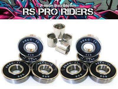 X8 Abec 11 608 Rs Skateboard Stunt Scooter Inline Quad Roller Skate Bearings 9