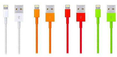 4x Color 2M/6Ft Long Usb charger data sync cord for iphone5 5s 5c 6 plus #1