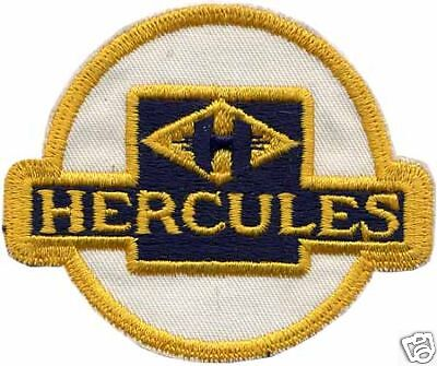 Hercules Embroidered Patch