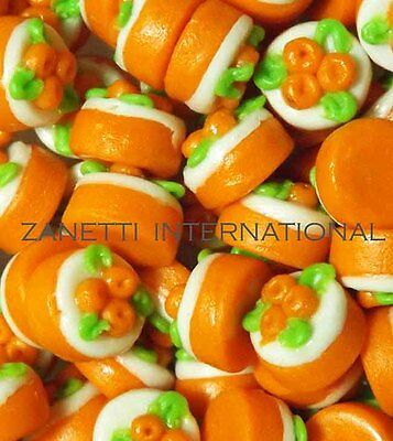 100 Dollhouse Miniature Carrot Cakes * Doll Mini Food Bakery Cake * Wholesale