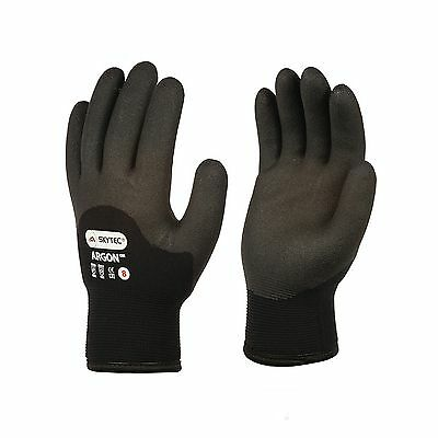 SKYTEC Argon Thermal Double Insulated HPT Foam Coated Cold Grip Glove -50 C