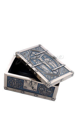 ''Crucifixion Of Christ'' Medieval Style Trinket Box
