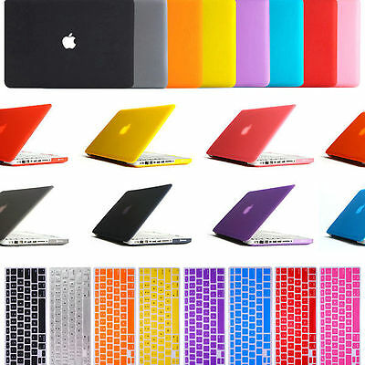 "Frosted Hard Case & Keyboard Cover Apple Macbook Pro 13""/15"" Retina, Air 11""/13"""