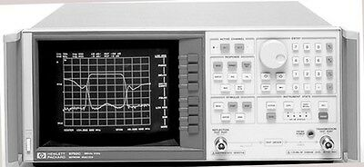 HP/Agilent 8752C/003/010 Vector Network Analyzer  300KHz - 3GHz CAL/CERT WARRNT