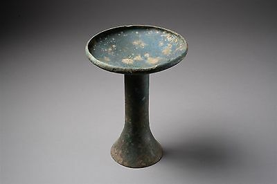 Ancient Chinese Spring and Autumn Archaic Ritual Cast Bronze Dou 豆 - 771 BC