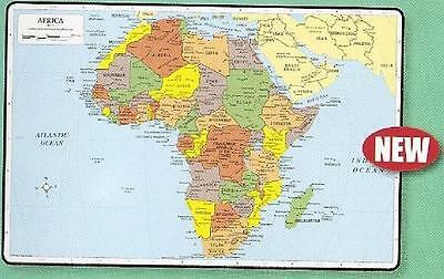 Africa Map Placemat