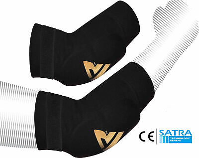 RDX Elbow Pads Protector Brace Support Guards Arm Guard MMA Gym Padded Sports AU