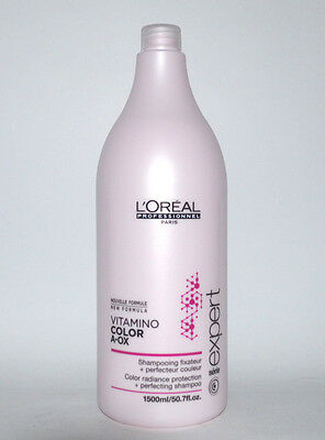 Loreal  Vitamino Color AOX Shampoo 1500ml  Serie Expert