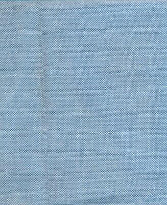Permin/Wichelt 28ct Linen Fabric Silver Blue Col 112 size 49 x 69cms