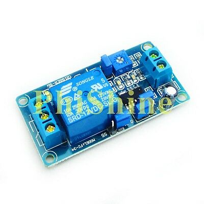 12V Relay Switch Module Automotive Turn on / Turn off Power-Delay Circuit
