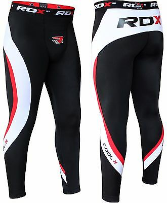 RDX Thermal Compression Flex Pants MMA Fight UFC Combat Mens Tights Gym Shorts