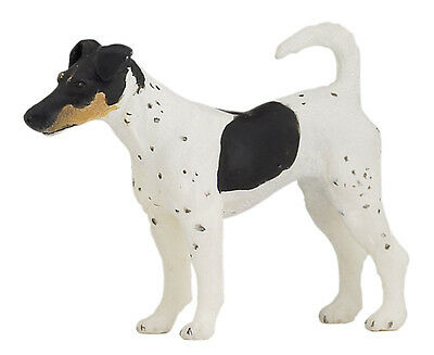 FREE SHIPPING | Papo 54017 Fox Terrier Dog Toy Canine Figurine- New in Package
