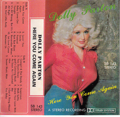 "K7 Audio Dolly Parton ""here You Come Again"" (Made In Japan)"