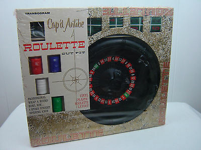 Cap'd Antibe Roulette Outfit by Transogram Co. #5012 ©1961 FACTORY SEALED NEW