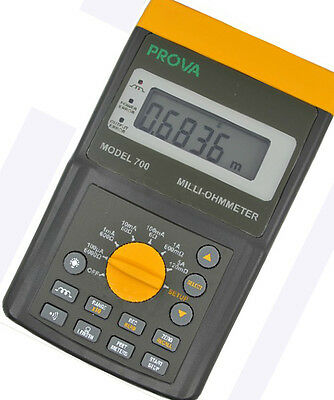 PROVA 700 Milli-Ohmmeter 100uA - 5A Test Current