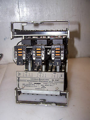New Ge Type 12Pjc31J45R Instantaneous Overcurrent Relay 6 Amps
