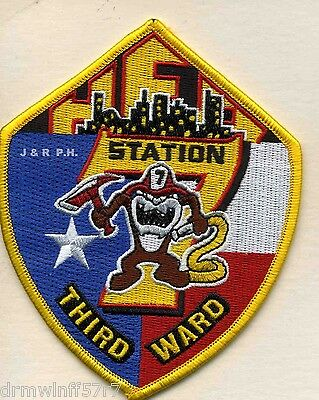 "4.75/"" x 4.75/"" size Manchester  Station-1  /""Get the Bird/"" fire patch CT"