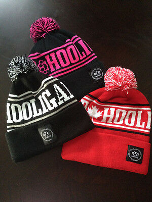 HOOLIGANS UNITED Tuque Beanie Hat Cap Casuals Football Soccer MMA Canada Winter