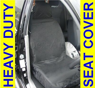 Universal car van 100% Waterproof Front Heavy duty Black Protectors seat covers