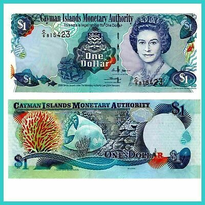 Cayman Inseln Cayman Islands 1 Dollar 2006 Unc.Pick:33c #