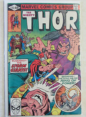 The Mighty Thor #295 - Bronze Age Marvel Comic 1980s - Combined Shipping