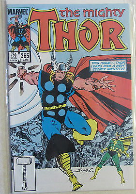 The Mighty Thor #365 - Copper Age Marvel Comic 1980s - Combined Shipping
