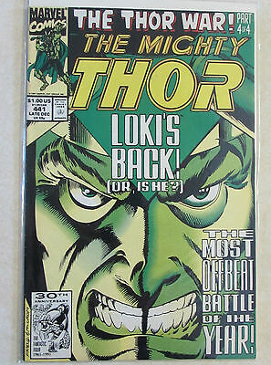 The Mighty Thor #441 - Copper Age Marvel Comic 1980s - Loki - Combined Shipping