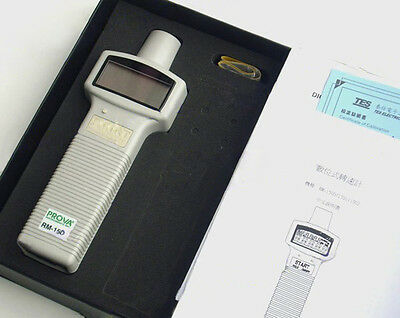 RM-1501 Digital Tachometer 10.00 to 99,999 RPM with Software & RS-232 Interface