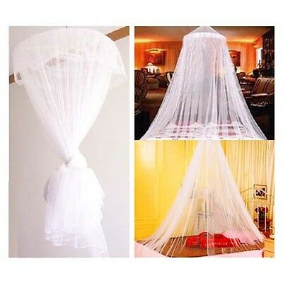 DIGIFLEX Bed Sleeping King Canopy Netting Insect Mosquito Fly Net White
