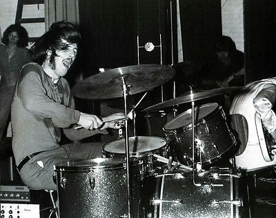 John Bonham Drums Led Zeppelin 8X10 Glossy Photo Picture