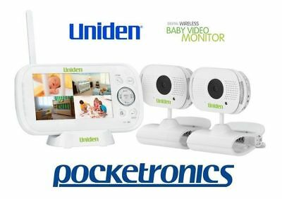 "Uniden BW3102 4.3"" TWIN CAMERA Baby Watch Wireless Video Monitor Night Vision"