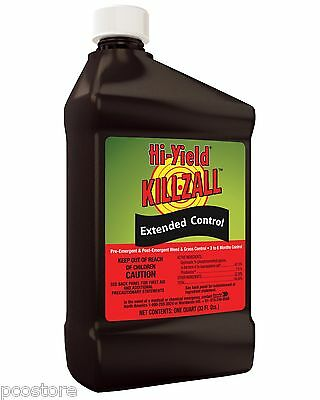 Killzall Extended Control Weed Killer Pre and Post Emergent Herbicide (32 oz)