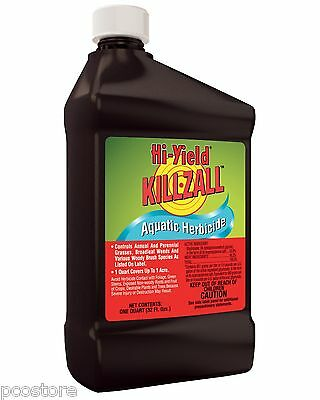 Killzall Aquatic Herbicide Vegetation Killer (32 oz)