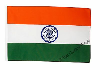 "India Banner 30x45cm – 18""x12"" Small Flag"
